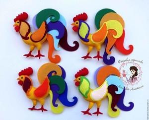 poshiv_petuha_fetra Мастер-класс по шитью петуха своими руками: бойцовский петух, петушок-рукавица, выкройки текстильных сувениров