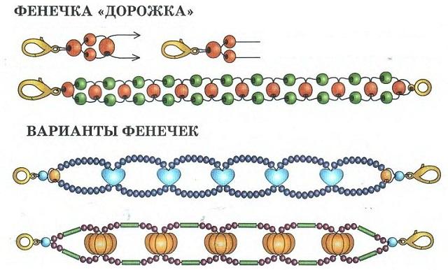 Мастер-класс по плетению из бисера для начинающих 916e5a0fddc98
