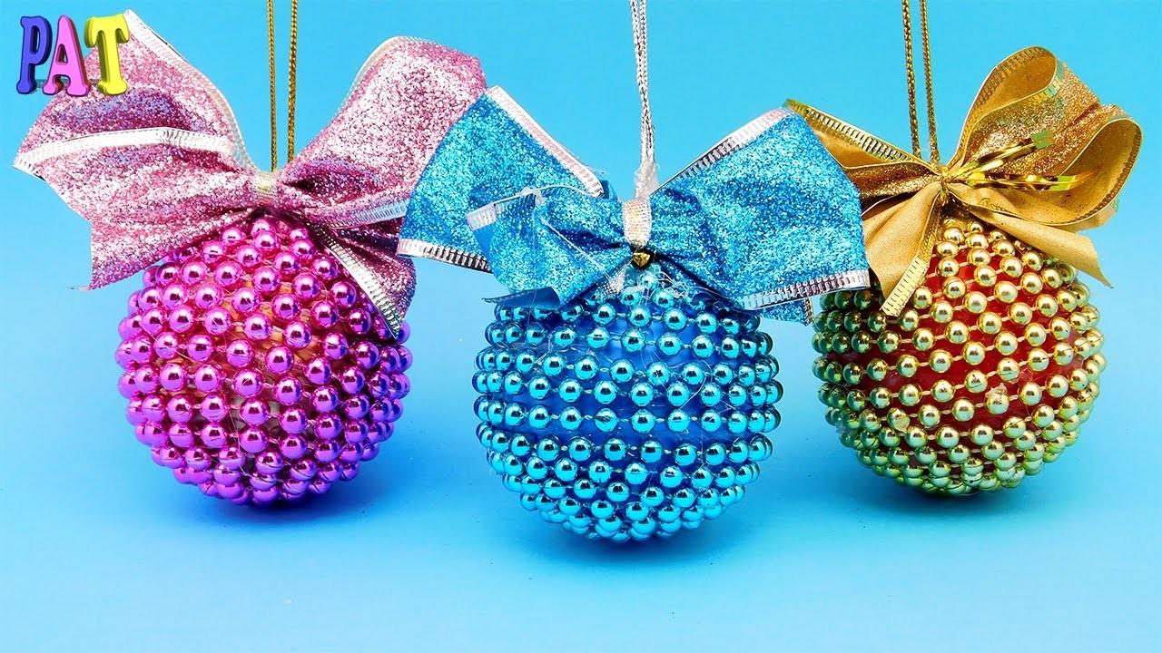 Елочные шары своими руками мастер фото 971
