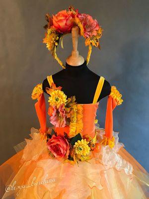 Как своими руками сделать костюм Осени для девочки ... - photo#46
