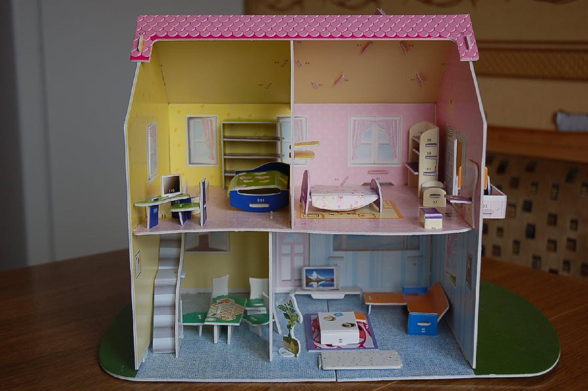 Как сделать куклам дом своими руками фото 73