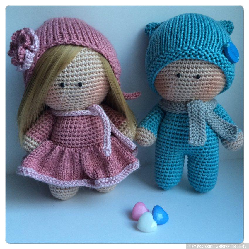 Вязаные куклы своими руками 715