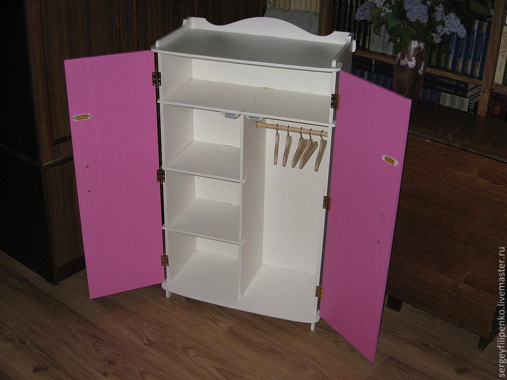 Шкаф для куклы барби своими руками