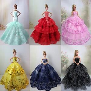 Красивые платье для куклы своими руками
