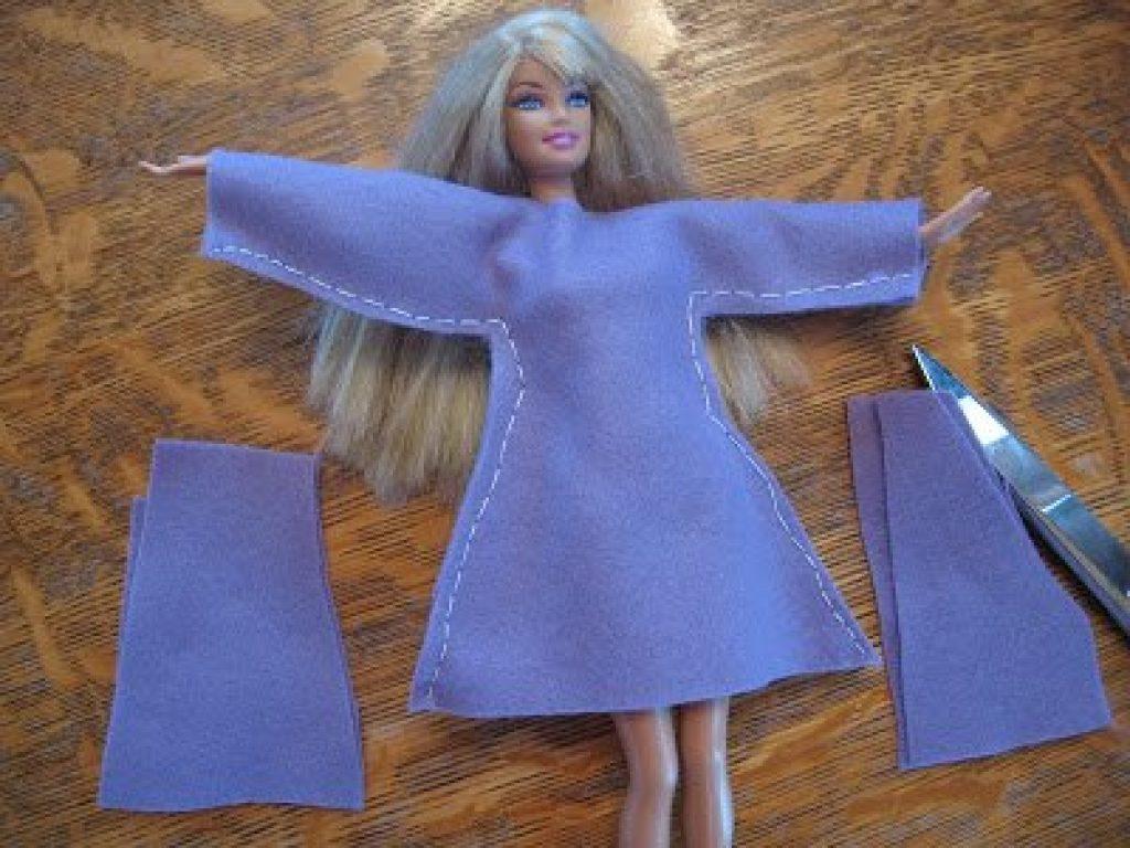 Как сделать штаны для кукол барби своими руками