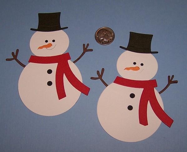 Как сделать снеговика из картона фото 427