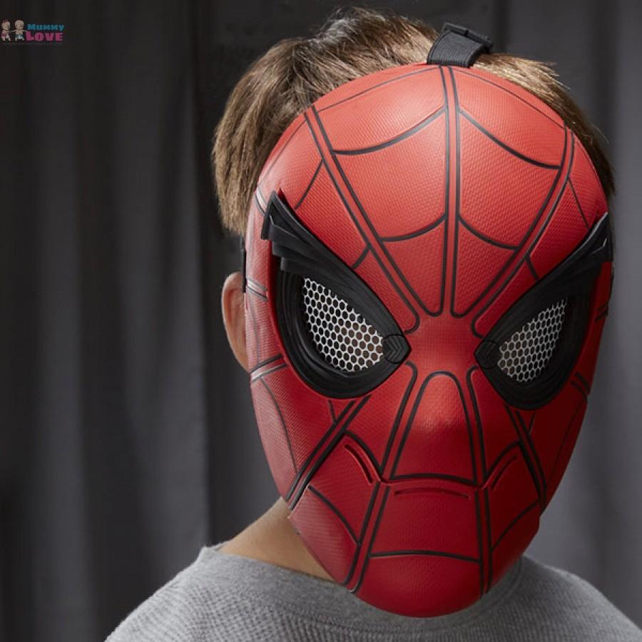 Как сделать маску новый человек паук фото 723