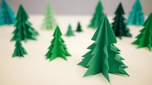 elka_bumagi_tehnike_origami Елка оригами в схемах и фото-видео уроках