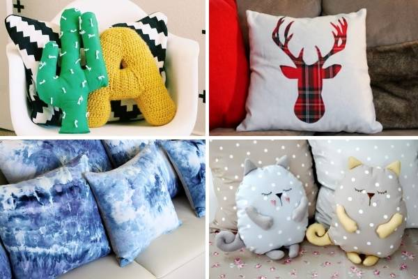 Как сшить декоративную подушку своими руками фото 605
