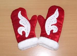 Рукавички для Деда Мороза