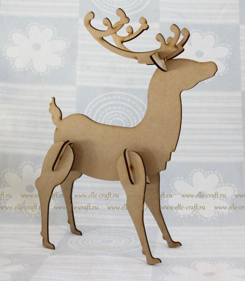 Новогодняя поделка олень своими руками фото 885