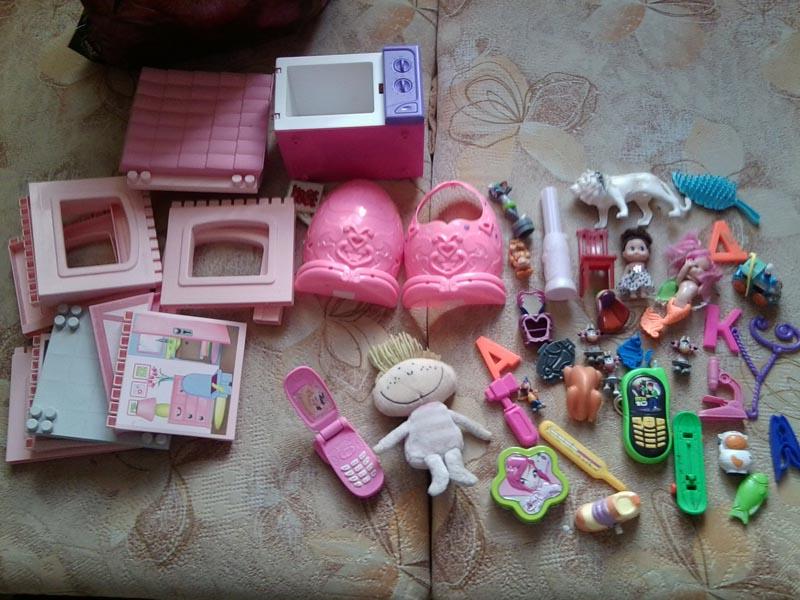 как сделать для кукол вещи - 5