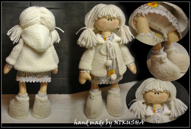 Кукла снежка мастер класс своими руками 450