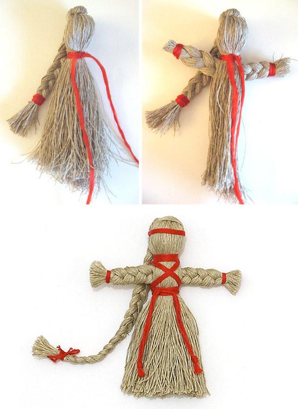 Как сделать куклу из мулине