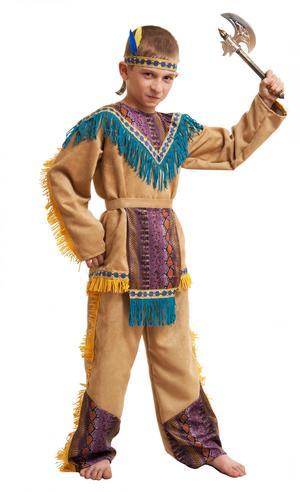 Как дополнить костюм индейца