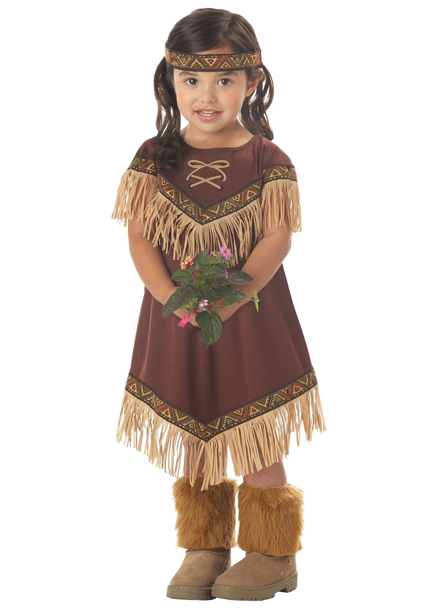 Как сделать своими руками костюм индейца для девочки своими руками