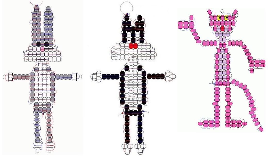 Пошаговая схема плетения из бисера фото 299