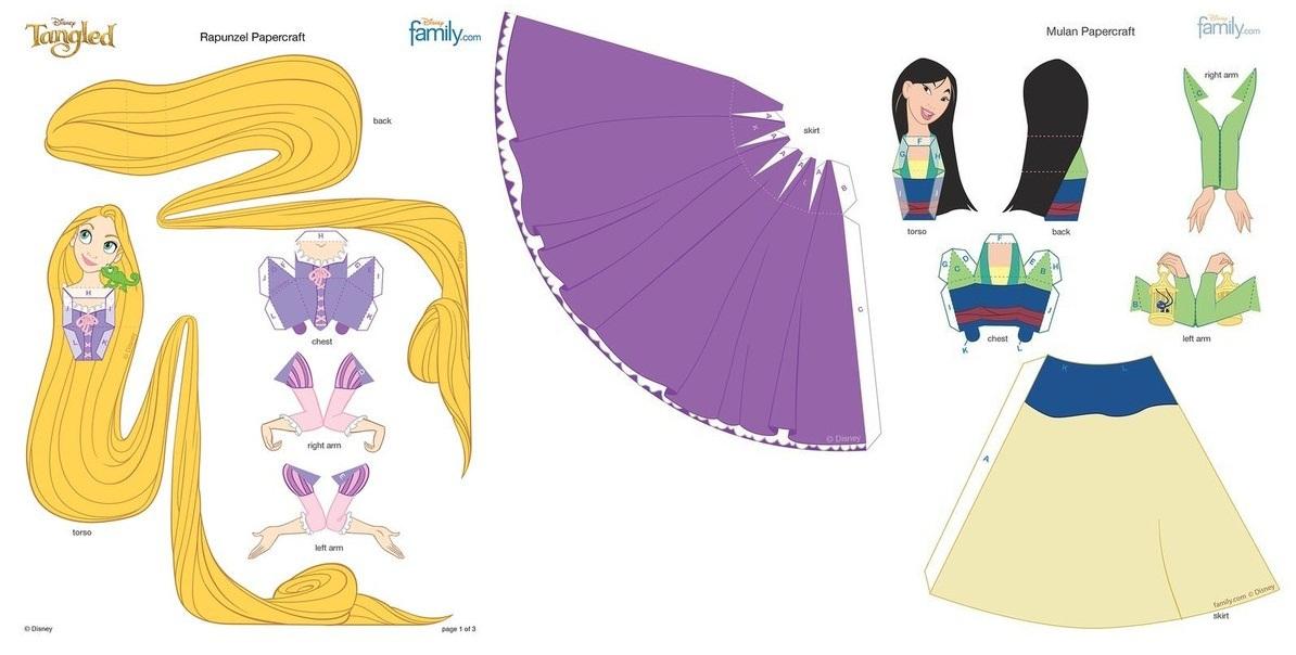 Как сделать куклу из бумаги объемную фото 111