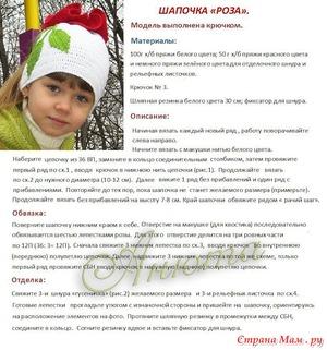 shapki_devochek_spicami Шапка для девочки спицами - пошаговая инструкция вязания с фото, как выбрать нити