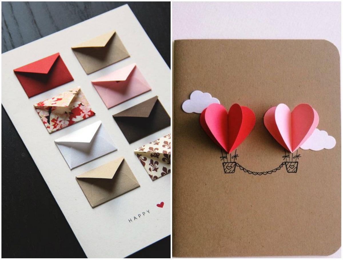 Как сделать открытку на день рождения своими руками просто, алеша