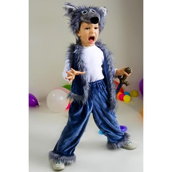 Новогодний костюм волка для мальчика своими руками фото 778