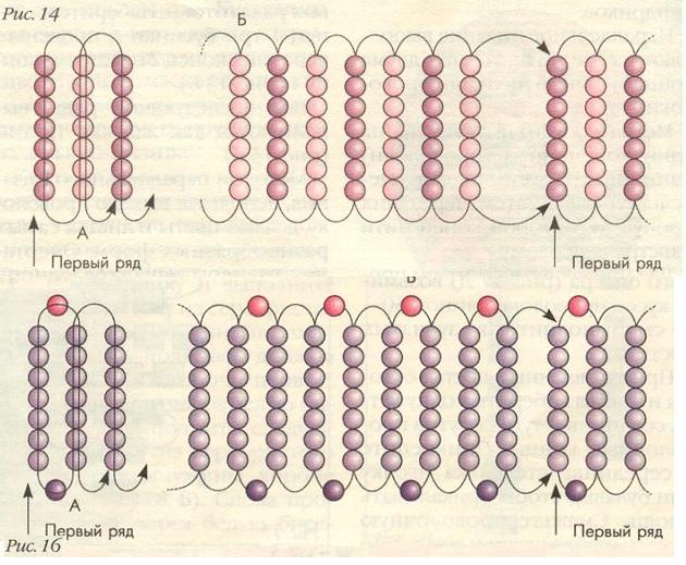 плетение из бисера схемы создания оригинальных браслетов и фенечек