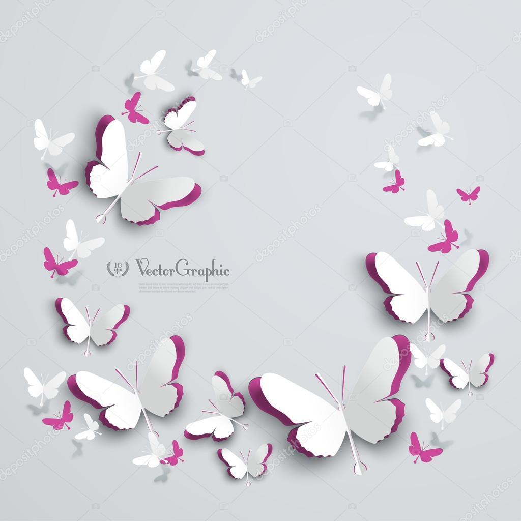 Как сделать своими руками бабочки из бумаги на стену своими руками фото 486