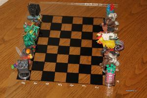 Сделать шахматы своим руками фото 856