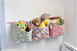 Ящики для хранения игрушек своими руками