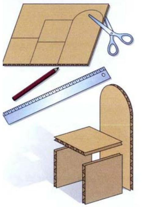 5a8ad3bdec3a Как сделать стол, стул и другую мебель для кукол своими руками из ...