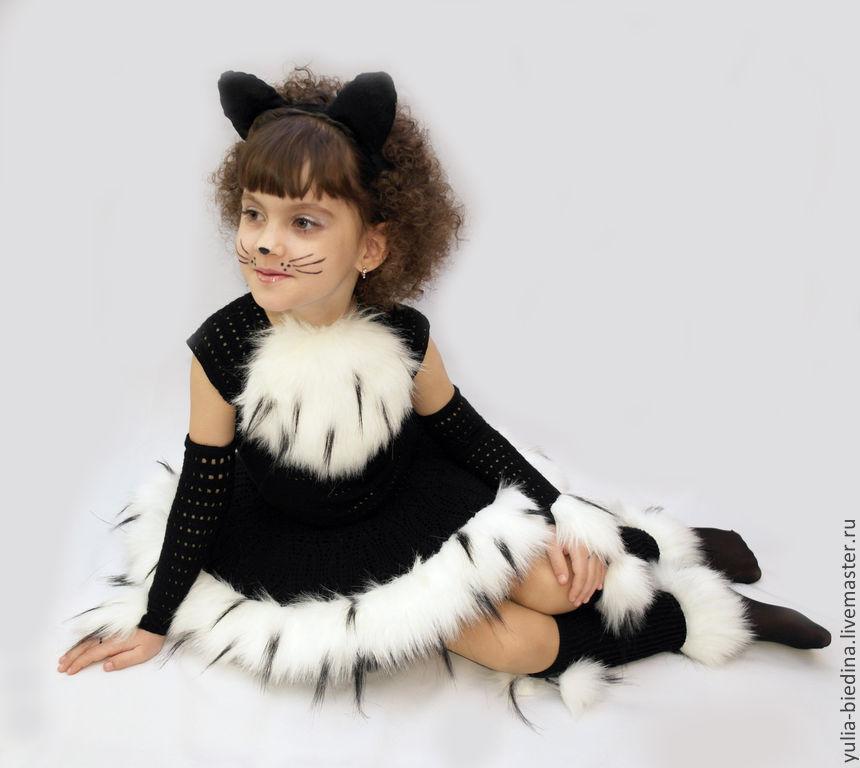 Новогодний костюм кошки для девочки своими руками фото 253
