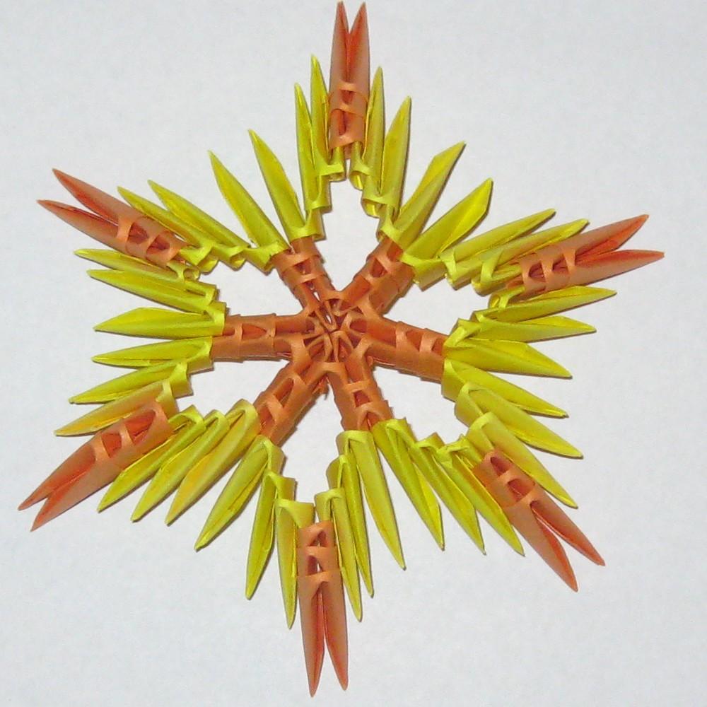 Поделки модульного оригами из бумаги своими руками фото 883
