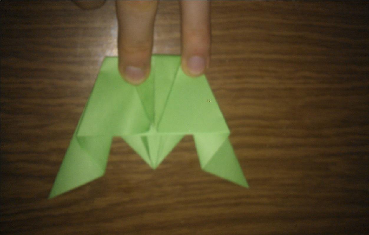 Как сделать оригами лягушку чтобы прыгала фото 95