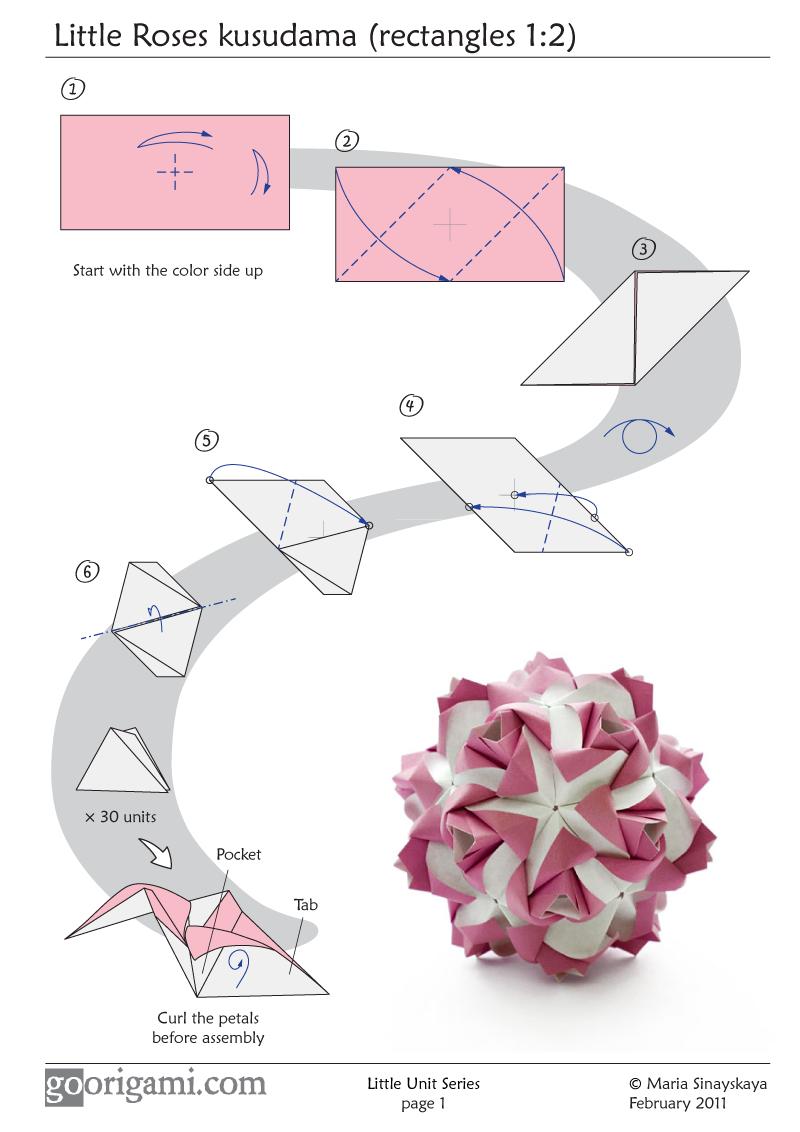 Оригами как сделать воздушный шар фото 221