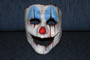 Пример маски из папье-маше