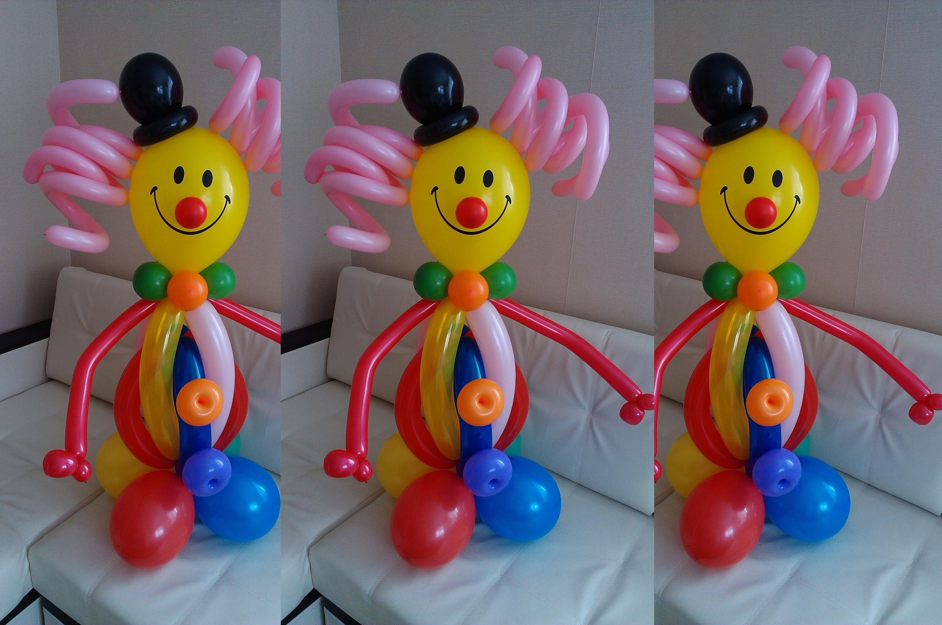 Как сделать петуха из воздушных шаров видео фото 931