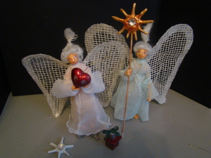 rozhdestvenskie_podelki Рождественские поделки: ангел своими руками из мешковины и картона,подарок на новый год