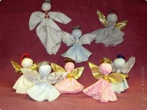 rozhdestvenskiy_angel Рождественские поделки: ангел своими руками из мешковины и картона,подарок на новый год