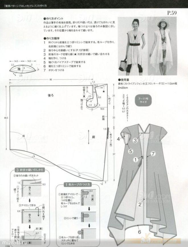 9a4ad8b44606 Выкройки в стиле бохо шик: платье, сарафан и юбка, кукла тильда и ...