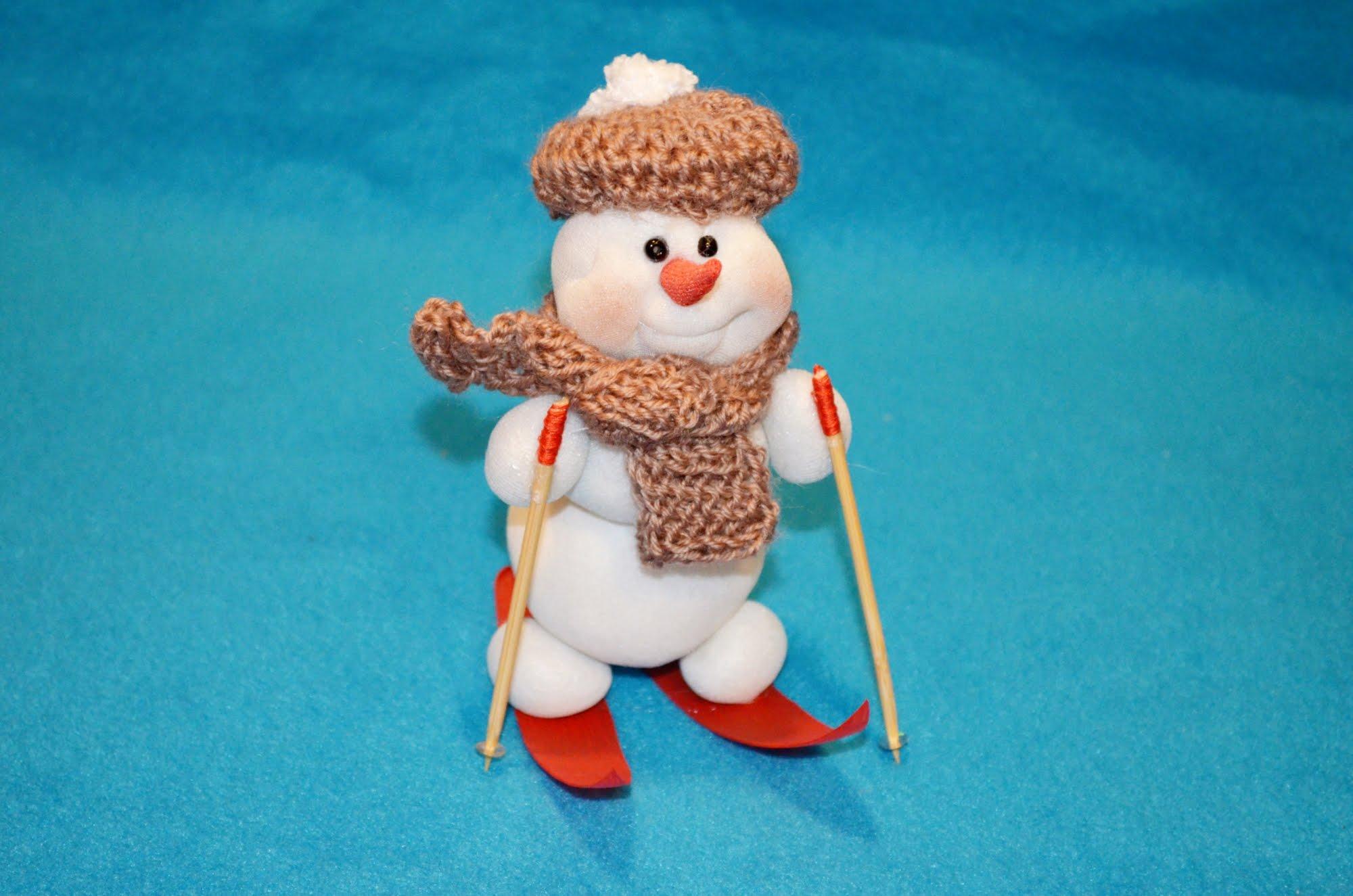 Как сделать руки снеговику из бумаги своими руками фото 385