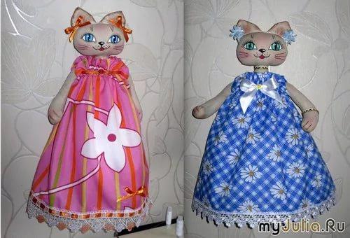 Кукла кошка своими руками фото 565