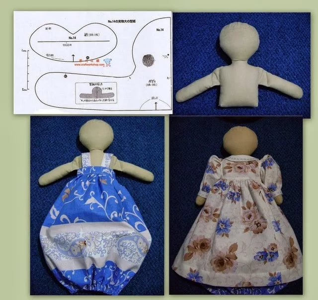 Кукла пакетница своими руками выкройки фото 4