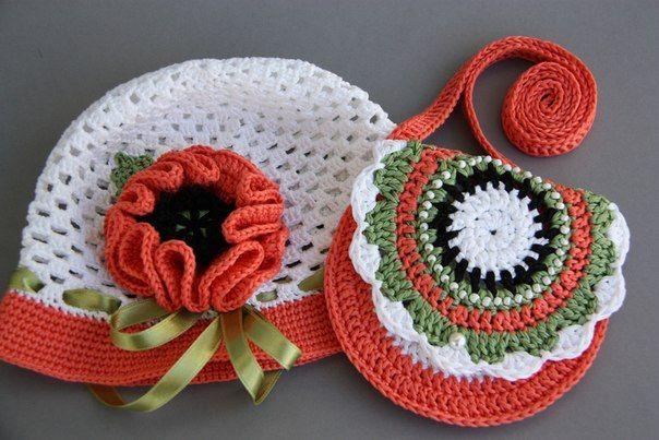 66a712a522b9 Маленькая сумочка крючком для девочки: необходимые материалы, мастер ...