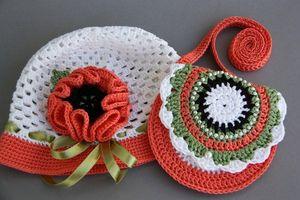 yarkiy_naborchik_kryuchkom Маленькая сумочка крючком для девочки: необходимые материалы, мастер-класс вязания и последовательность работы || Вяжем детскую сумочку