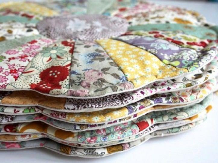 Рукоделие из лоскутков ткани своими руками фото 842
