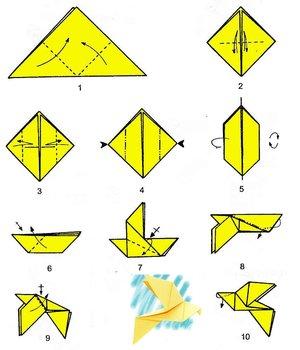 Оригами тонкости работы