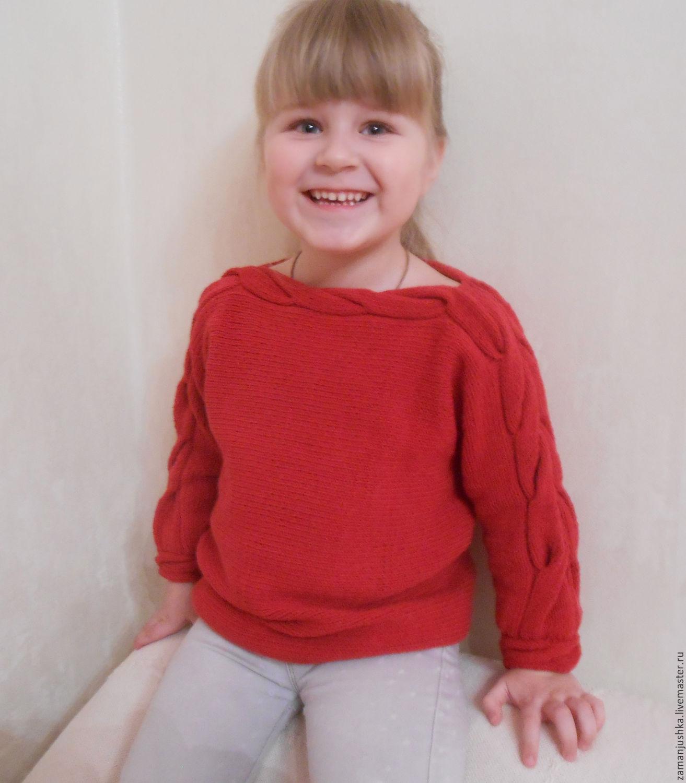 Красный свитер своими руками фото 621