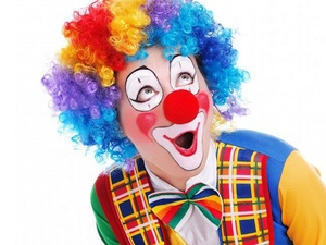 Образ злого клоуна