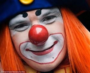 Парик для клоуна