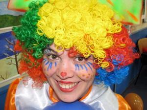 Перевоплощение в клоуна
